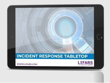 CYBERSECURITY INCIDENT RESPONSE TABLETOP