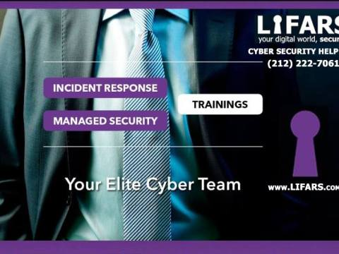 LIFARS.com is the Leader in Incident Response, Digital Forensics, Ransomware Mitigation and Cyber Resiliency Services