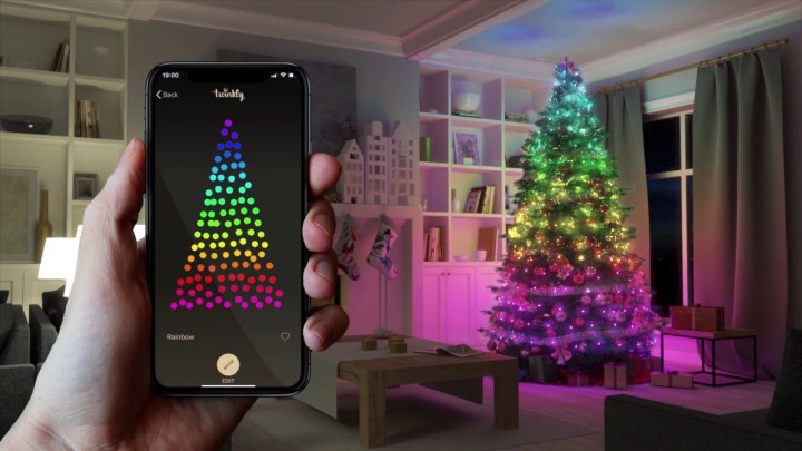 IoT connected Christmas lights Twinkly smart lights security