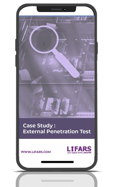 External Penetration Test Case Study phone