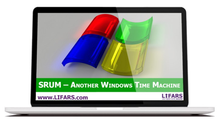 SRUM - Another Windows Time Machine extract evidence of program execution on the victim system