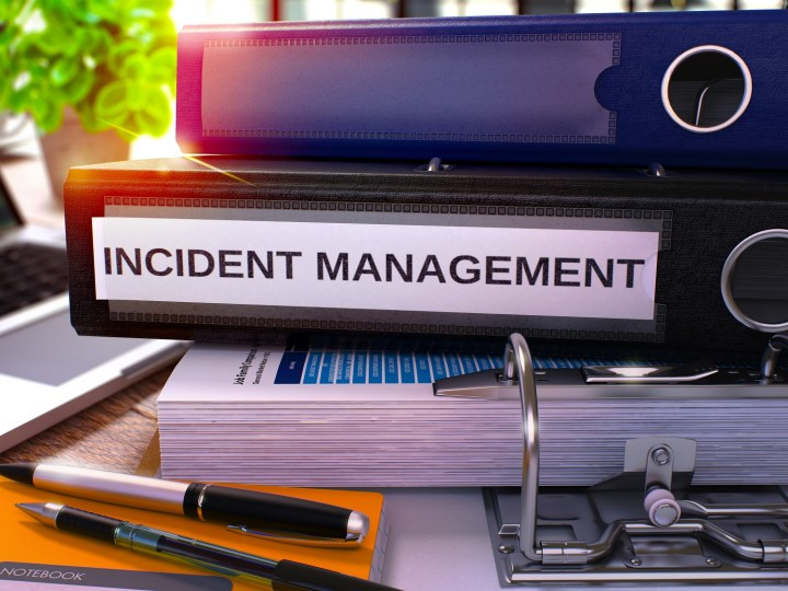 Incident response form