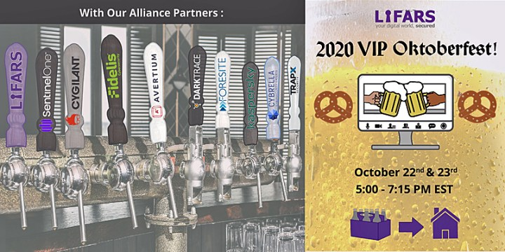 cyber security virtual event - 2020 VIP Oktoberfast