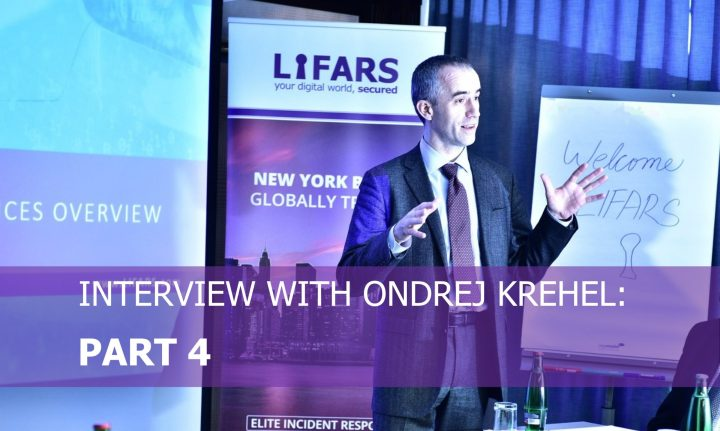 Interview With Ondrej Krehel Part 4