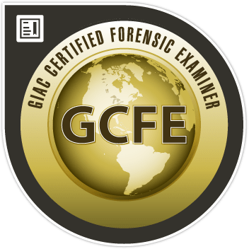 GIAC Certified Forensic Examiner (GCFE)