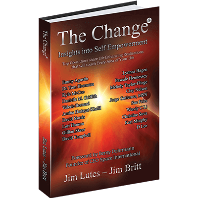 """Book Cover """"The Change: Insights into Self Empowerment"""""""