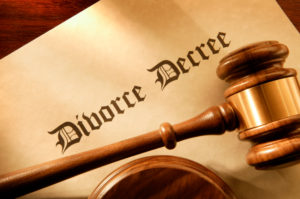 The divorce papers coming through is not the end...