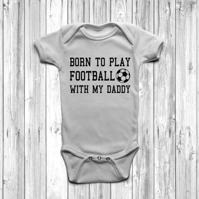 born to play football with daddy