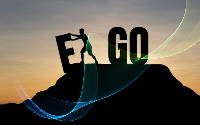 Let Go of your ego - pushing E away to create go