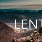 Lent 2021 Day 14