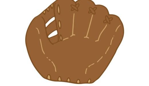 【野球グローブのカビ・臭い】取り方や匂い対策、消臭方法、内側の手入れ