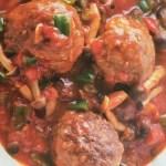 「ẩm thực nhật」THỊT BĂM VIÊN SỐT CÀ CHUA