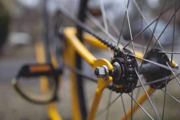 自転車 身軽でいきたい