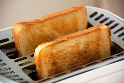パンのトースト・炭水化物