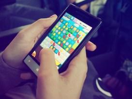 スマートフォンのゲーム