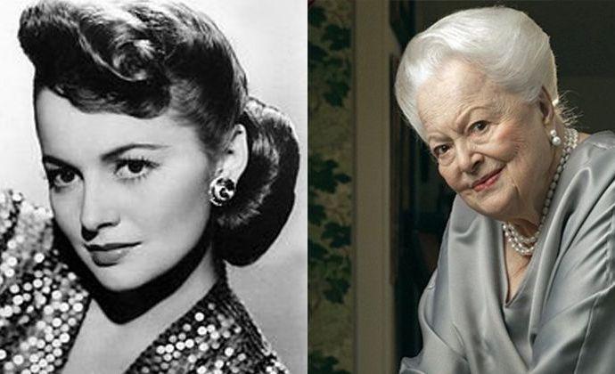 """103 летняя звезда """"Унесенных ветром"""" всё ещё красива."""