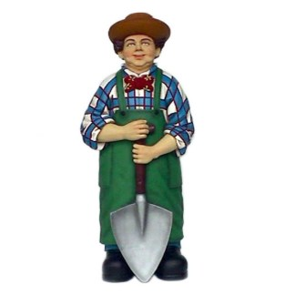 Male Gardener-Lifesize-Funny-Advertising-Model