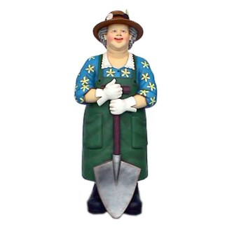 Female Gardener-Lifesize-Resin-Advertising-Model