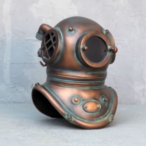 Deep Sea Diving Helmet Life Size Models Realistic Models Sculpture Life Sized Model Life Size Replica statue cars Replica Models Dinosaurs life size figurines Albshed lifesize models Alba shed helmet alba-shed-dinosaurs-direct-lifesize-models-prop-3389-diver-helmet-new