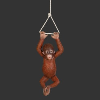 Hanging Baby Orangutan Cute Life Size Animal Model