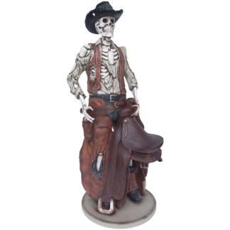 Skeleton Cowboy Life Size Horror Halloween Model