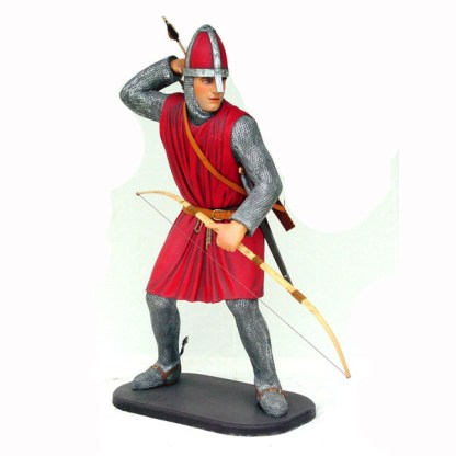 Norman Crusader 3D Realistic Life Size Figure