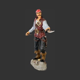 Pirate Cristobal Life Size Realistic 3D Figure