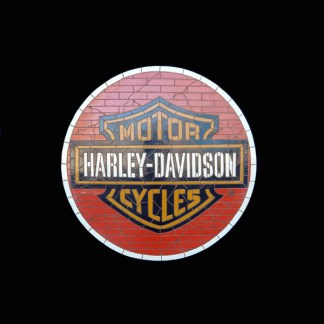 Harley Davidson 3D Mosaic Wall Decor