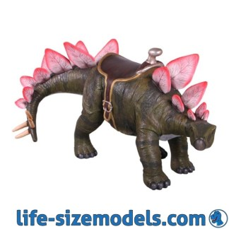 Stegosaurus 2ft Statue with Saddle