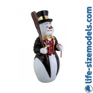 Snowman 4ft Figure Life Size Christmas Model