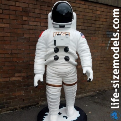 Astronaut Figure 3D Realistic Lifesize Space Figure
