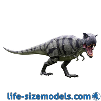 T-Rex Walking Stance Statue