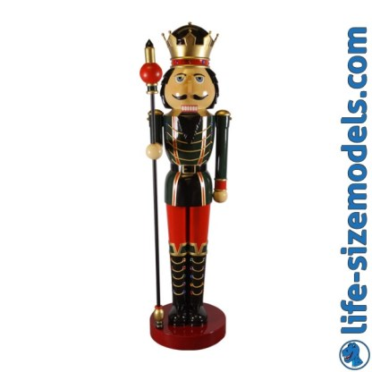 Nutcracker with Sceptre 12ft Figure