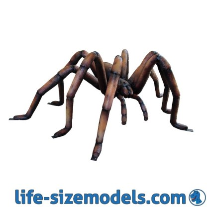Giant Brown Recluse Spider 3D Lifesize Model