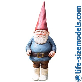Garden Gnome-Male 3D Garden Ornament