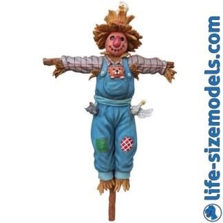 Scarecrow Figure 3D Realistic Lifesize Model