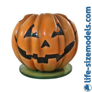 Pumpkin Photo Pod 3D Realistic Lifesize Model