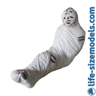 Mummy Figure 3D Realistic Lifesize Model