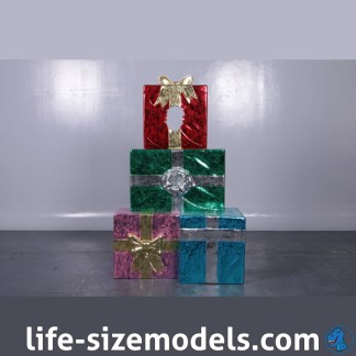 Gift Stack Photo Pod Christmas Photo Opportunity