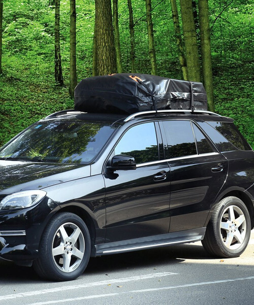 Easy To Install Cargo Roof Bag Waterproof Car Top Carrier Soft