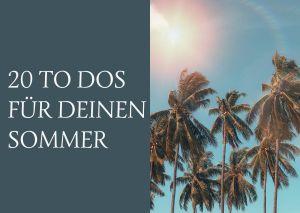 Sommer, Palmen