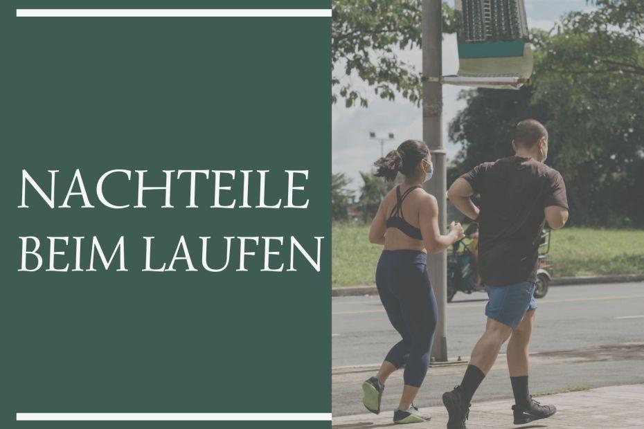 2 Läufer - Nachteile beim Laufen