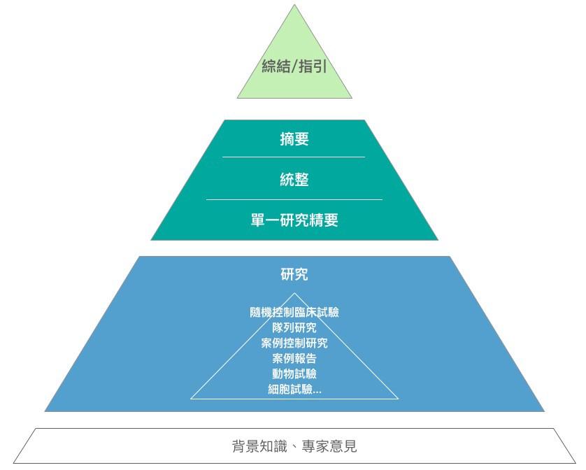 證據等級金字塔