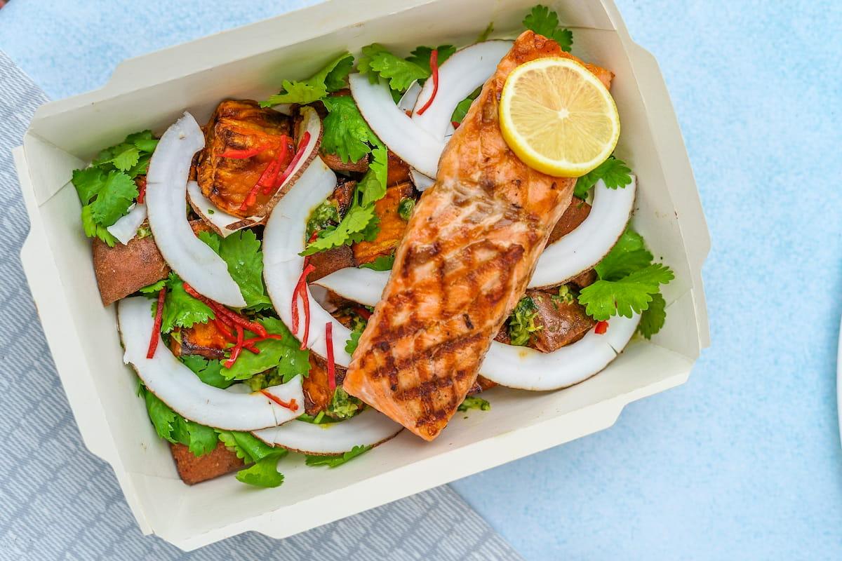 維生素D-鮭魚