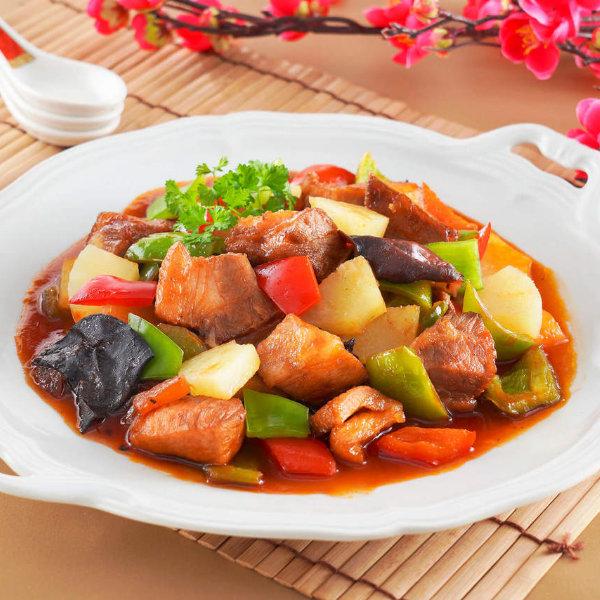 鳳梨糖醋排骨-安永食譜-輕鬆做菜