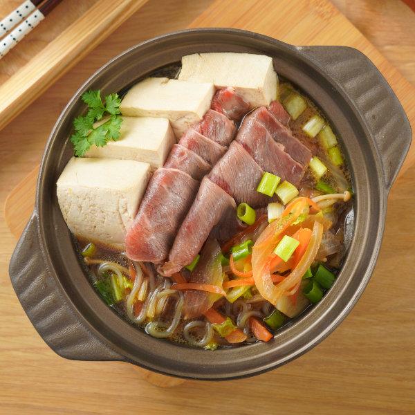 牛肉-壽喜燒-蔬菜