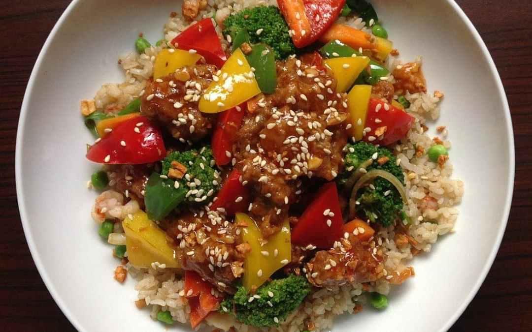 《雞肉櫻花蝦燕麥飯》富含鈣與纖維的夏威夷風清爽料理!