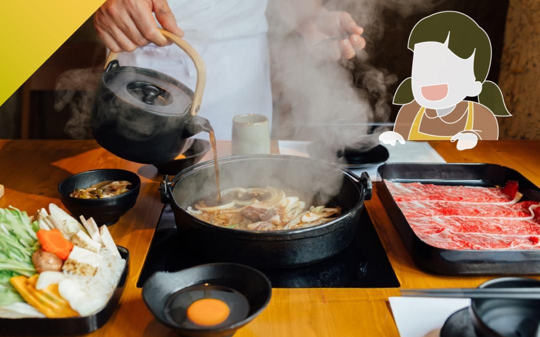 壽喜燒  日本人回老家想吃的食物 No. 1!