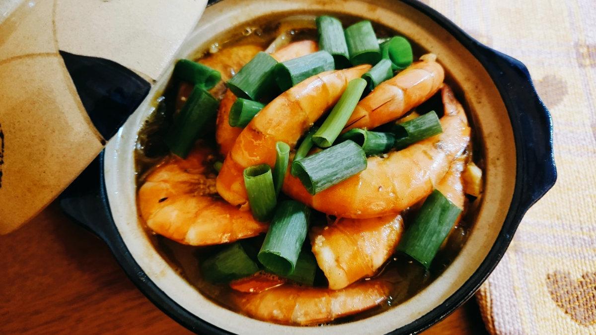 鮮蝦料理-鮮蝦粉絲煲