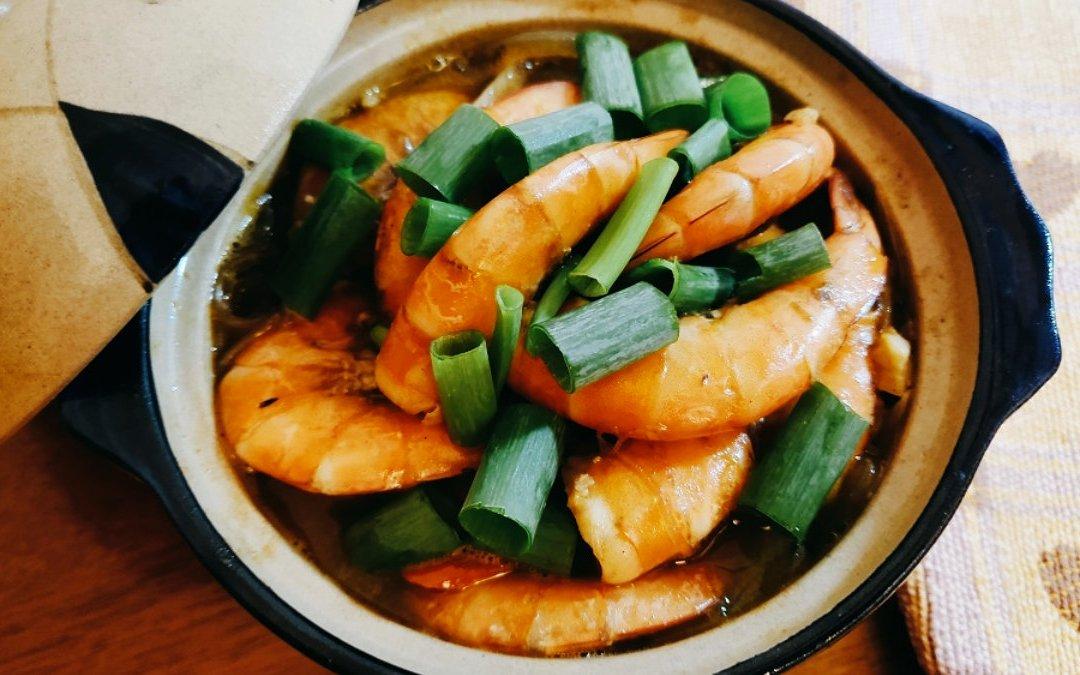 鮮蝦料理 鮮蝦粉絲煲